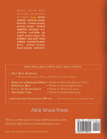 Able Muse - a review of poetry, prose and art - Summer 2012 (No. 13 - print edition) - back cover (click to enlarge)