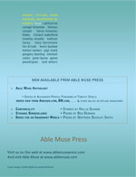 Able Muse - a review of poetry, prose and art - Winter 2012 (No. 14 - print edition) - back cover (click to enlarge)