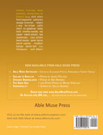 Able Muse - a review of poetry, prose and art - Summer 2013 (No. 15 - print edition) - back cover (click to enlarge)