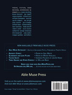 Able Muse - a review of poetry, prose and art - Summer 2015 (No. 19 - print edition) - back cover (click to enlarge)