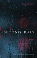 Second Rain - poems by Elise Hempel - front cover (click to enlarge)