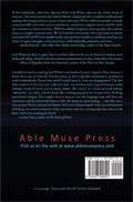 Asperity Street - poems by Gail White - back cover (click to enlarge)