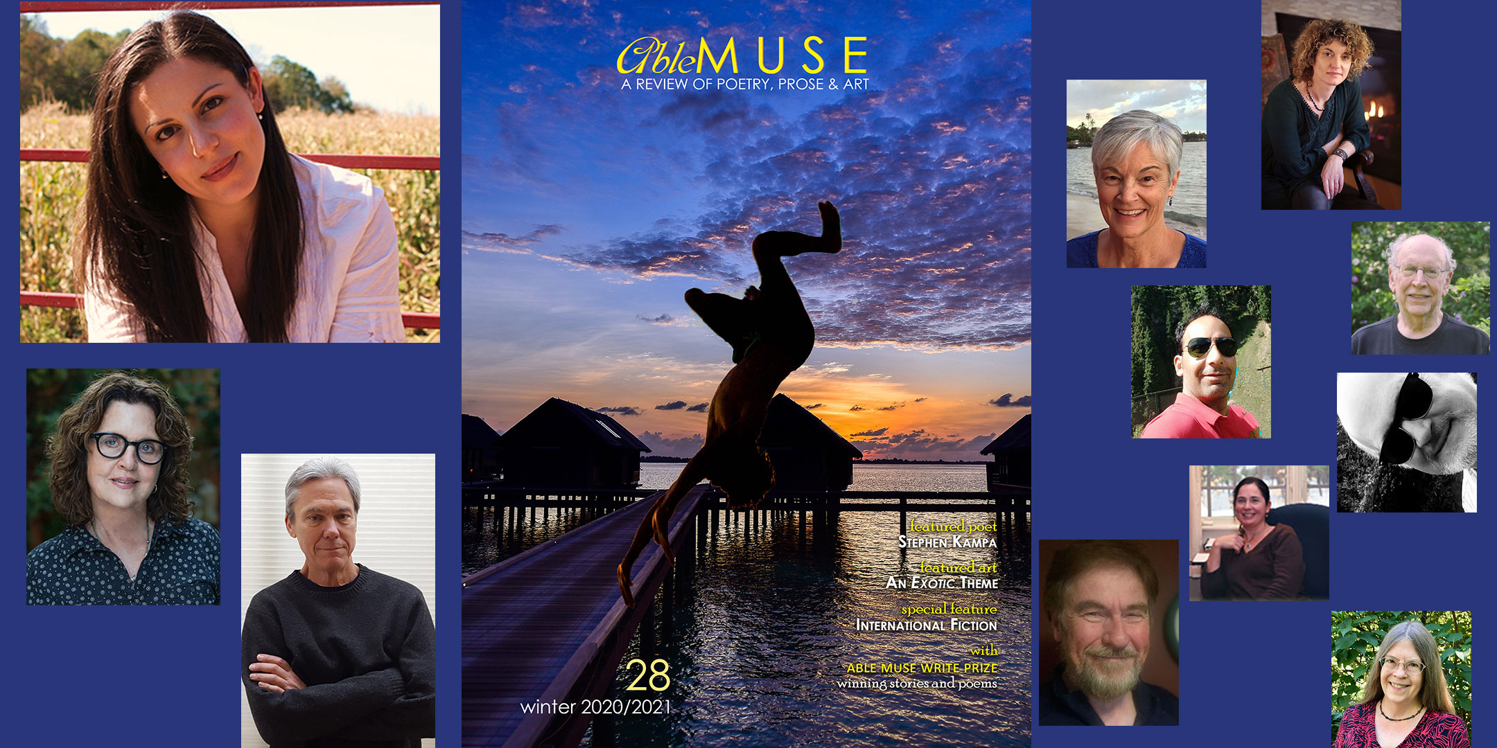 Able Muse, winter 2020/2021 launch reading