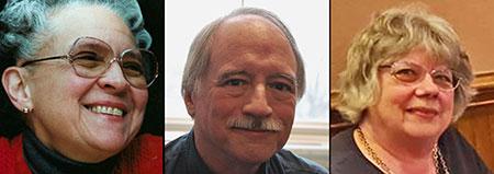 John Philip Drury, Rhina P. Espaillat, Gail White